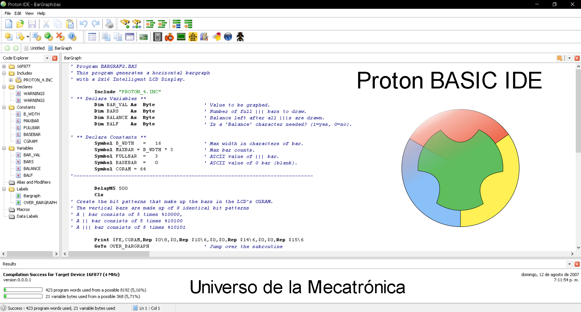 Descargar proton IDE programar PIC
