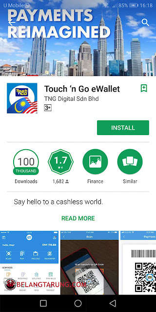 Touch N Go E Wallet RFID Play Store