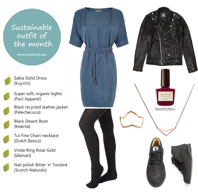 """The Scandinavian Rebel"" - sustainable outfit of the month - March 2016"