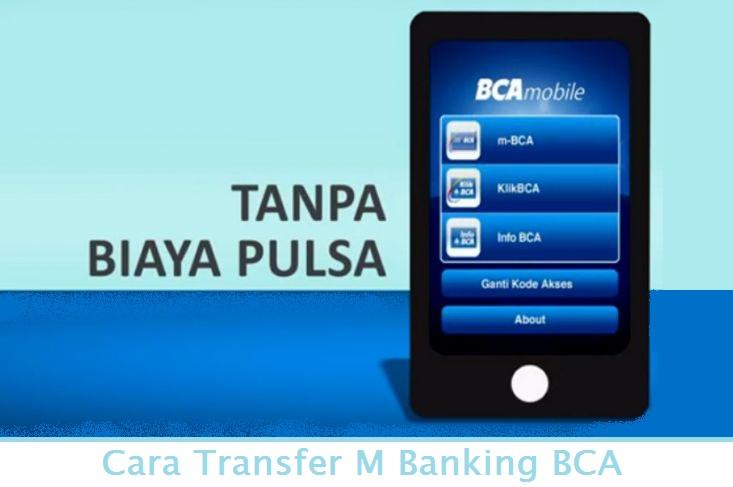 cara transfer m banking bca dengan 3