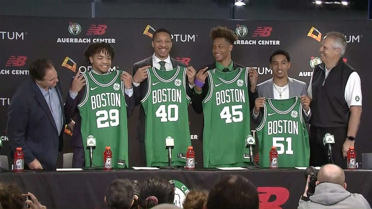 A Quick Lift For Celtics Fans From Romeo Langford And Carsen Edwards