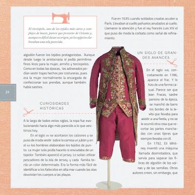 Página del libro Maestros de la Costura