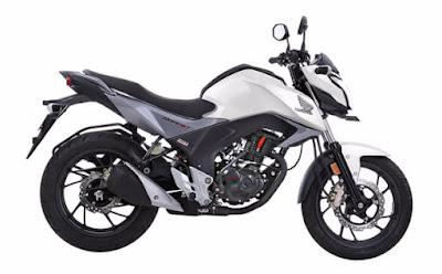 Honda CB Hornet 160R amazing white image