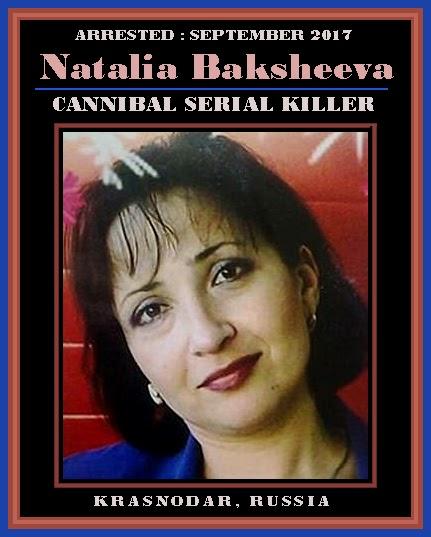 Unknown Gender History Natalia Baksheeva Russian Confessed Serial Killer 2017