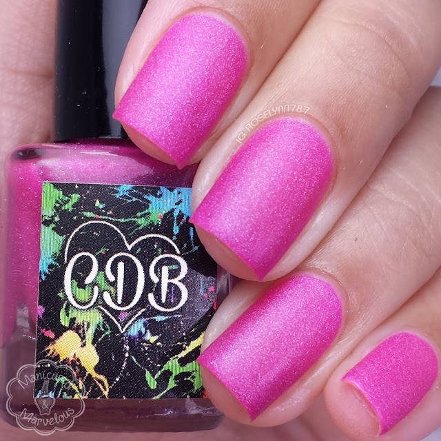 CDB Lacquer - Hazy Pink