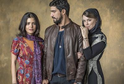 Laila, Jamil e Dalila, a recalcada. Foto – Globo.