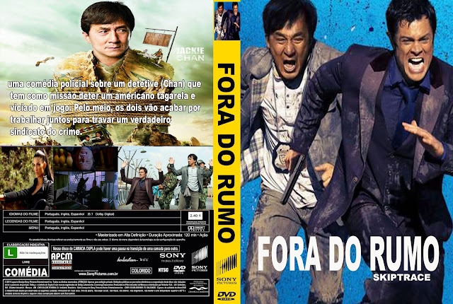 Capa DVD Fora Do Rumo