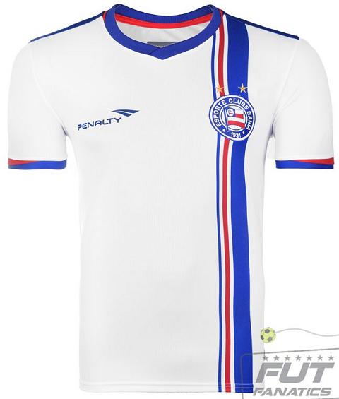 Penalty é a nova fornecedora de uniformes do Bahia - Show de Camisas 5325a7a9f706d