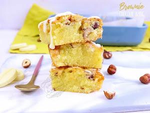 Brownie au chocolat blanc ultra moelleux
