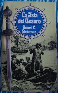 Portada del libro La isla del tesoro, de Robert L. Stevenson