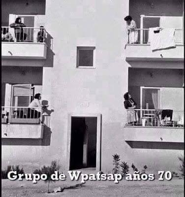 Grupo de Whatsapp años 70