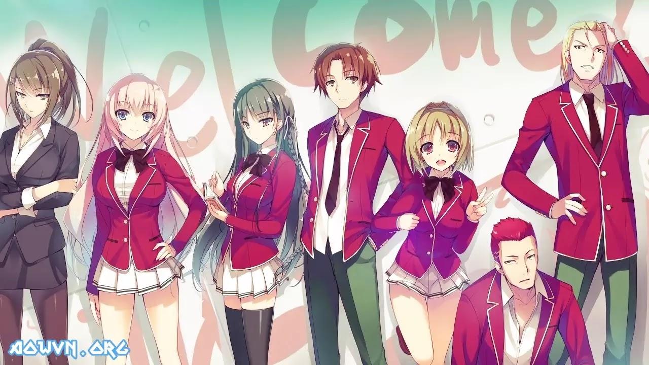 AowVN%2B%25281%2529 - [ Anime 3gp Mp4 ] Youkoso Jitsuryoku Shijou Shugi no Kyoushitsu e  | Vietsub - Hay Tuyệt