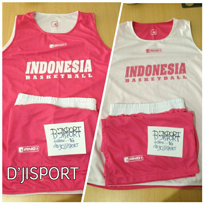 D Jisport  Jual JERSEY LATIHAN BOLAK-BALIK INDONESIA BASKETBALL 3f948c3a0