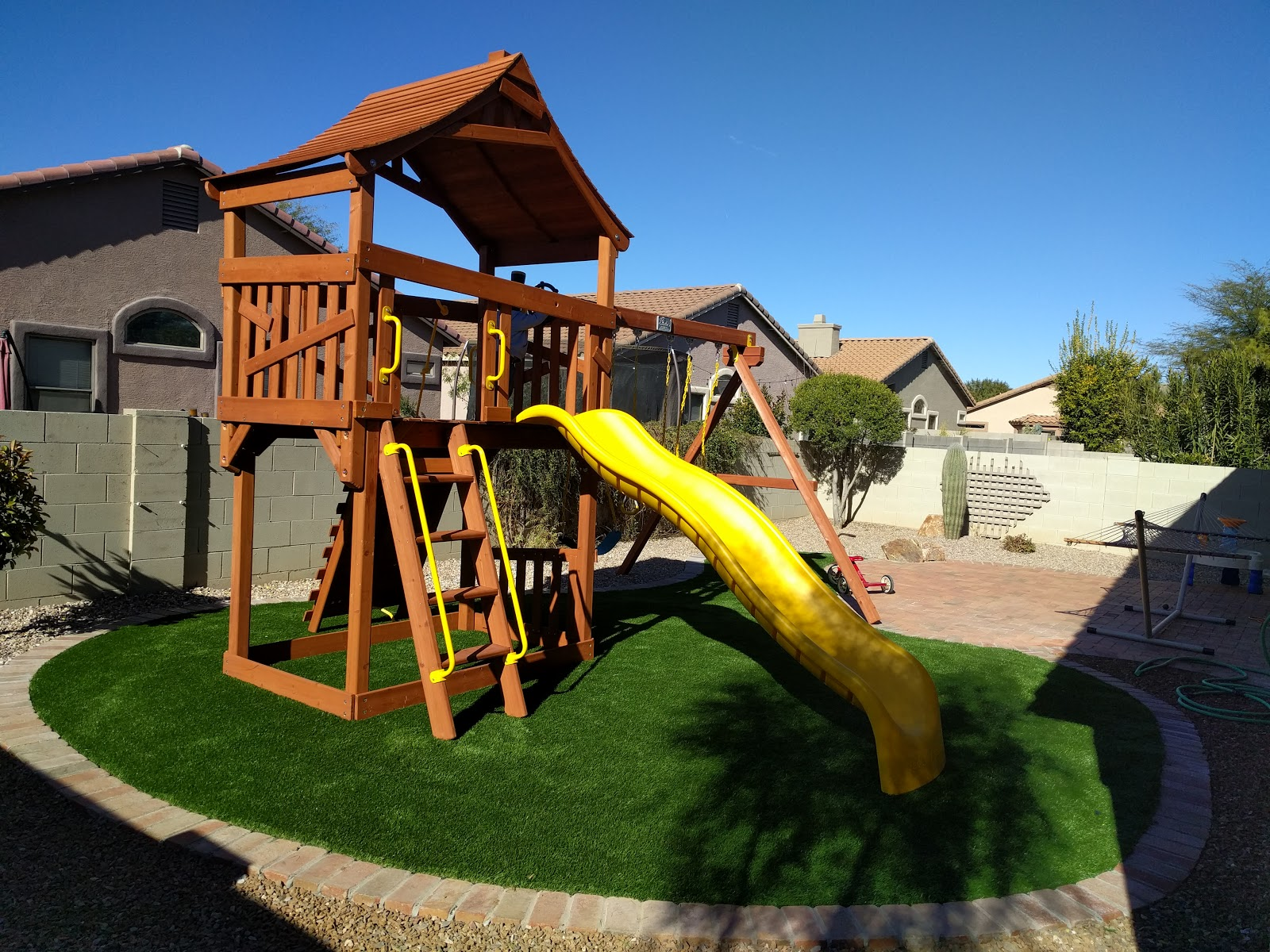 before and after backyard remodel our charmed life