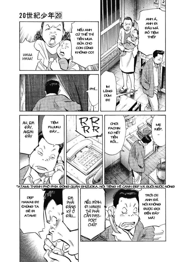20th Century Boys chapter 218 trang 5
