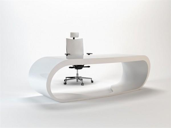 desain meja kantor minimalis modern