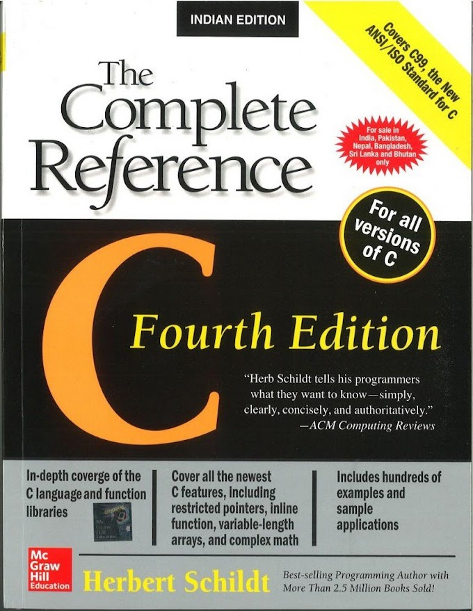 C The Complete Reference by Herbert Schidt
