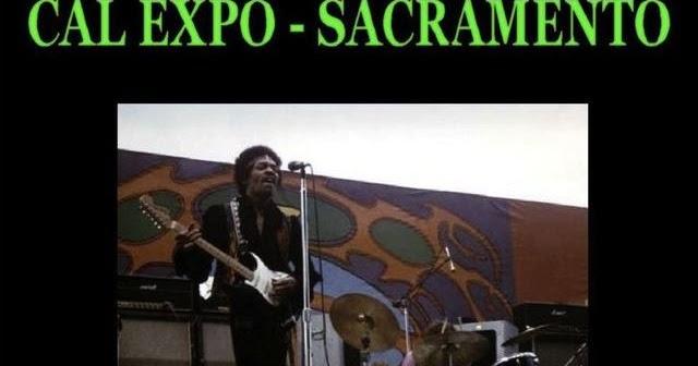 Jimi Hendrix In Concert: Cal Expo/Sacramento,CA/April 26,1970