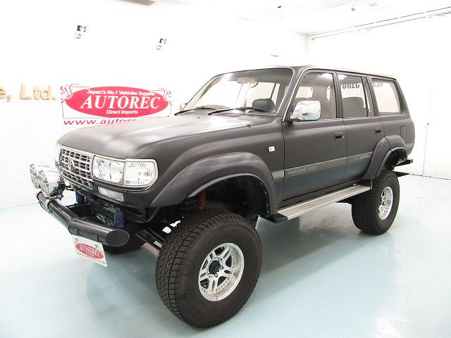 19669A3N8 1991 Toyota Landcruiser Diesel Turbo 4WD for PNG to LAE