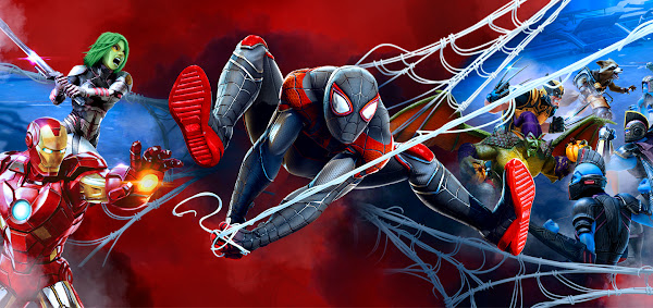 Marvel Strike Force updated (2.2) for iOS and Android with SpiderVerse theme