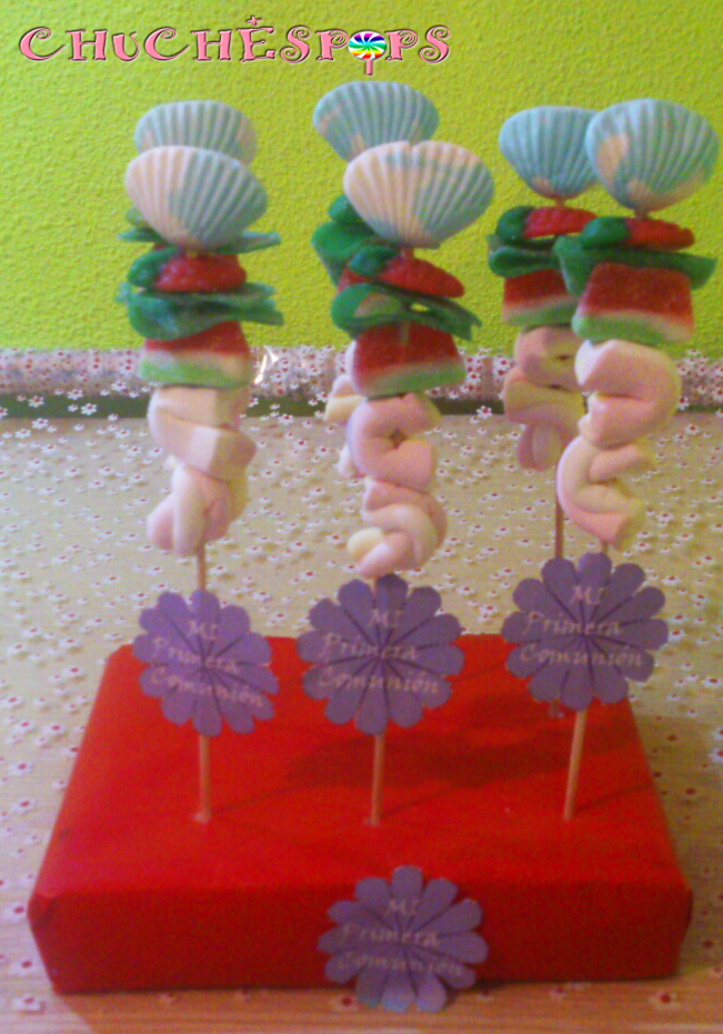 Brochetas de Chuches Comunion