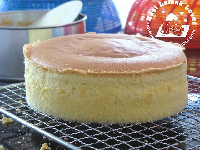 Nasi Lemak Lover Basic Plain Sponge Cake