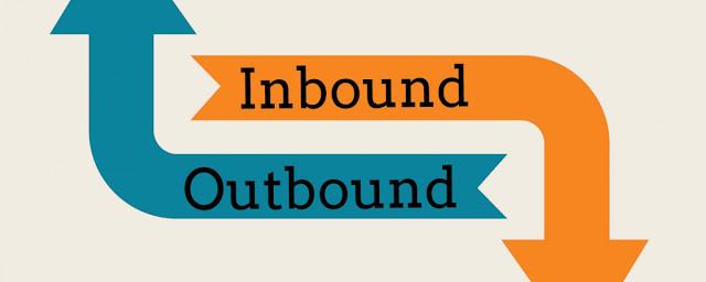 What is the differences inbound and outbound network traffic