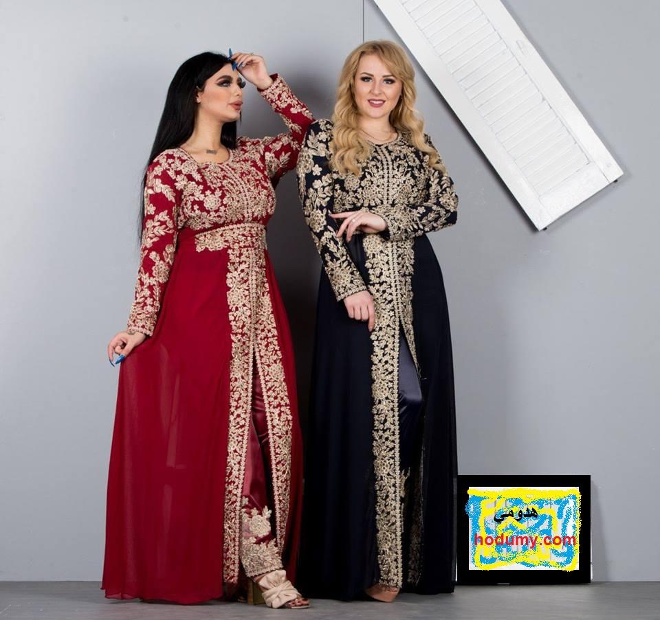 a7a6fc611 احدث صيحات قفطان مغربي 2019 للبنات والنساء