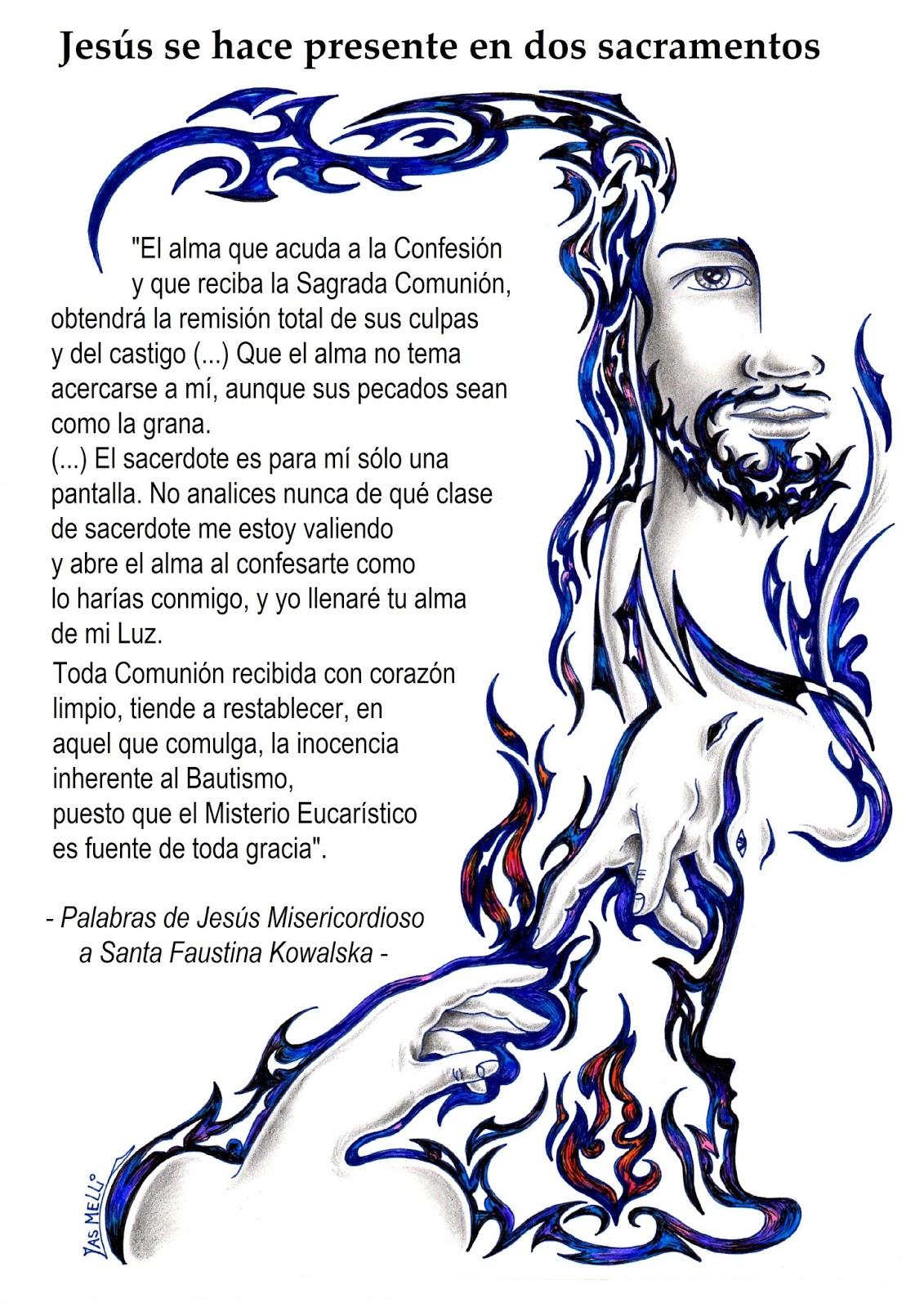 PARA COLOREAR: Jesús de la Divina Misericordia