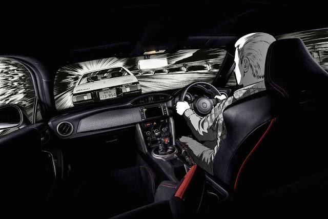 英国のトヨタが「頭文字D」のAE86を再現したGT86のコンセプトカーを公開!