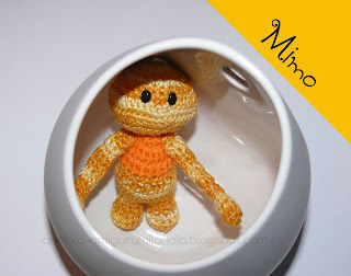 crochet doll unique handmade