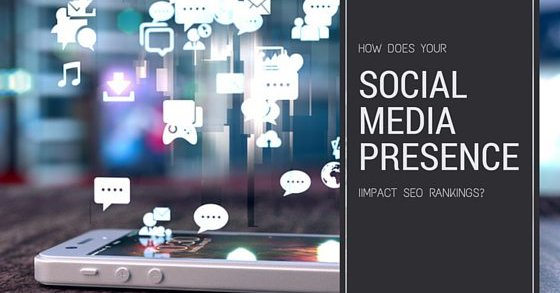 Social Media impact on SEO rankings