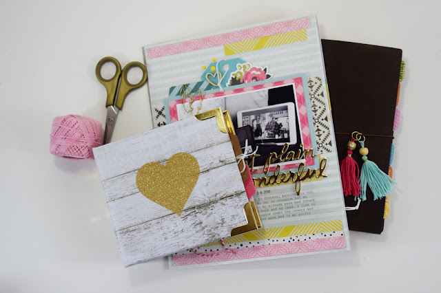 Stories from the Heart a scrapbooking class by @jbckadams for Big Picture Classes #scrapbooking #memorykeeping #scrapbookclass #BeckiAdams
