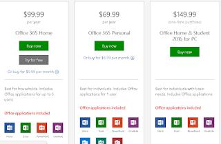 harga dari microdoft office 265