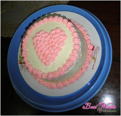 Resepi Kek Red Velvet Topping Cream Cheese - Buat Wanita