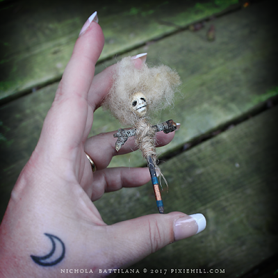 Friday the 13th Creepy Protective Amulets - Nichola Battilana