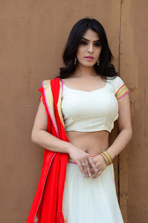 Sidhika Sharma Hot Navel Show Photos