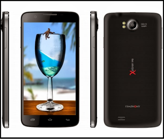 Symphony Xplorer P8 Android Phone Price & Full Specifications ~ Tech Shout