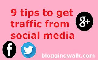 get social media traffic