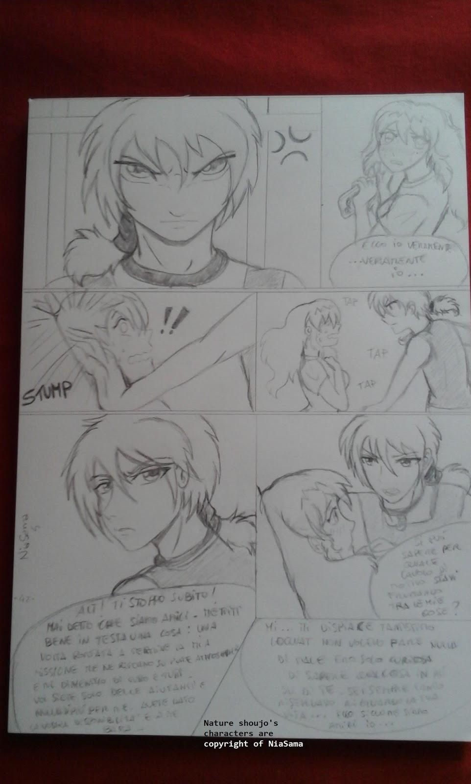 Nature shoujo disegni e storia originali in stile manga gennaio 2017