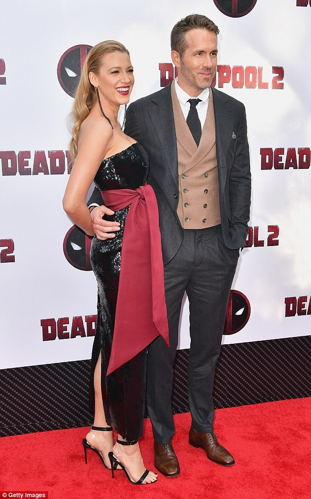 'Deadpool 2': Blake Lively and Ryan Reynolds hit the red carpet