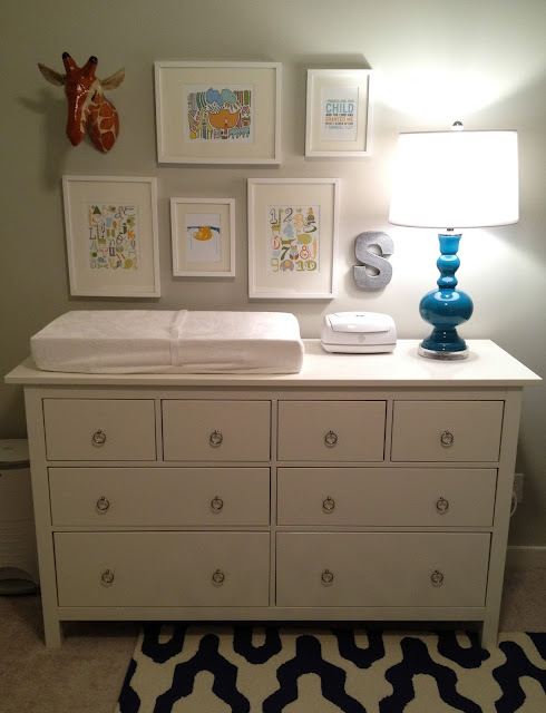 changing table as dresser