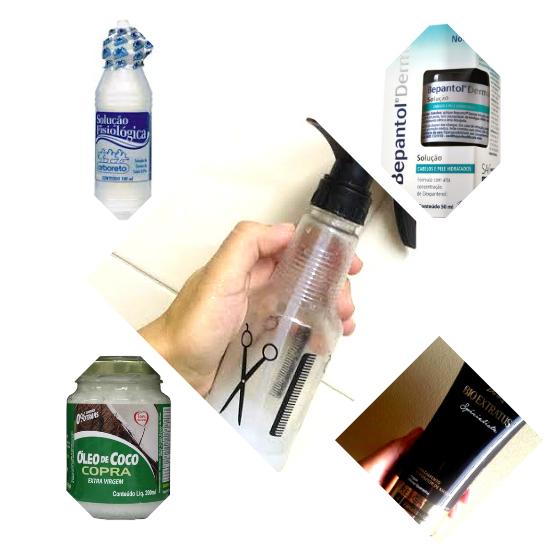 spray finalizador cabelo