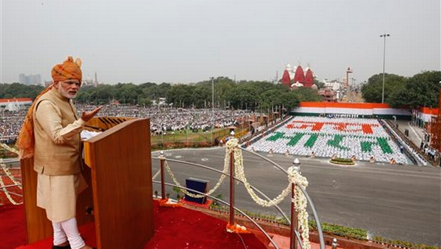 PM Narendra Modi Live Independence Day Speech