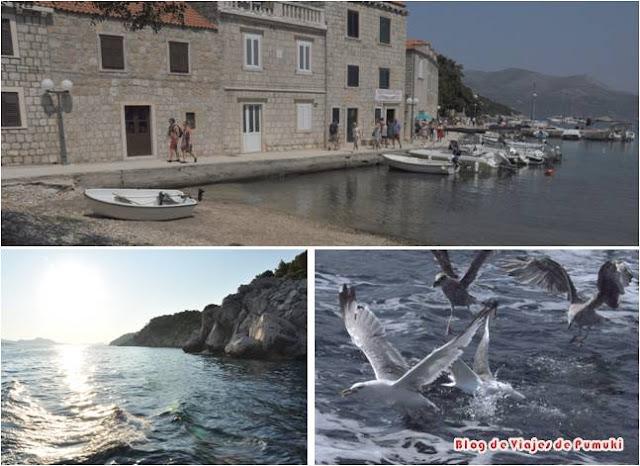 Excursion a Islas Elaphiti con niños desde Dubrovnik durante viaje a Croacia