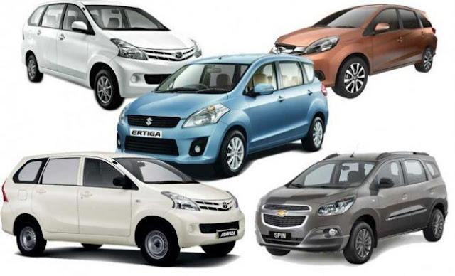 20 Merk Mobil Terlaris 2016