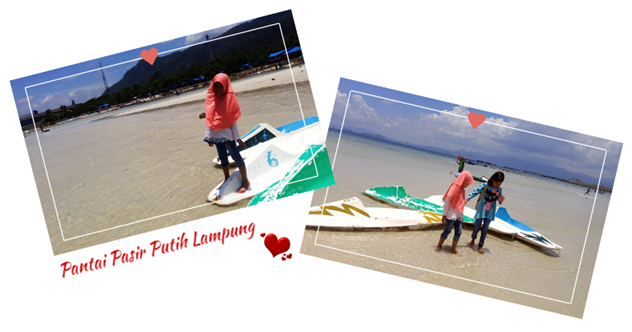 pantai pasir putih lampung wisata murah meriah