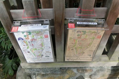 來宮神社境内案内図