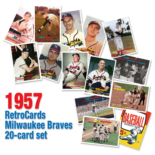 "Jack Dittmer, Red Schoendienst, Nippy Jones, Bob ""Hurricane"" Hazle, Joey Jay, Mel Roach, Hawk Taylor, Toby Atwell, Harry Hanebrink, Carl Sawatski, Bob Trowbridge, Fred Haney, Hank Aaron, Lew Burdette, shoe polish incident,  ""1957 topps baseball wrapper"""