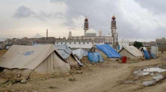 Kondisi kamp pengungsi di Khamer, Yaman (The Washington Post)